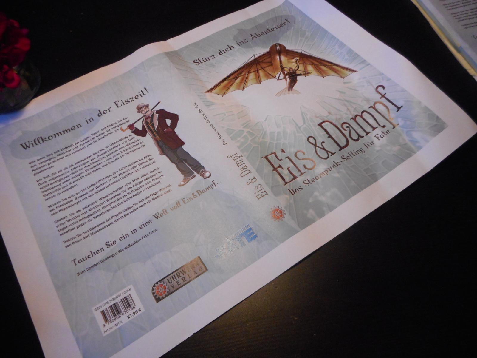 Auch das kommende Fate Core-Rollenspiel Eis & Dampf zeigt sich von seiner besten Seite. Auf der offiziellen Seite des im Uhrwerk Verlag erscheinenden Rollenspiels zu den Büchern Die zerbrochene Puppe […]